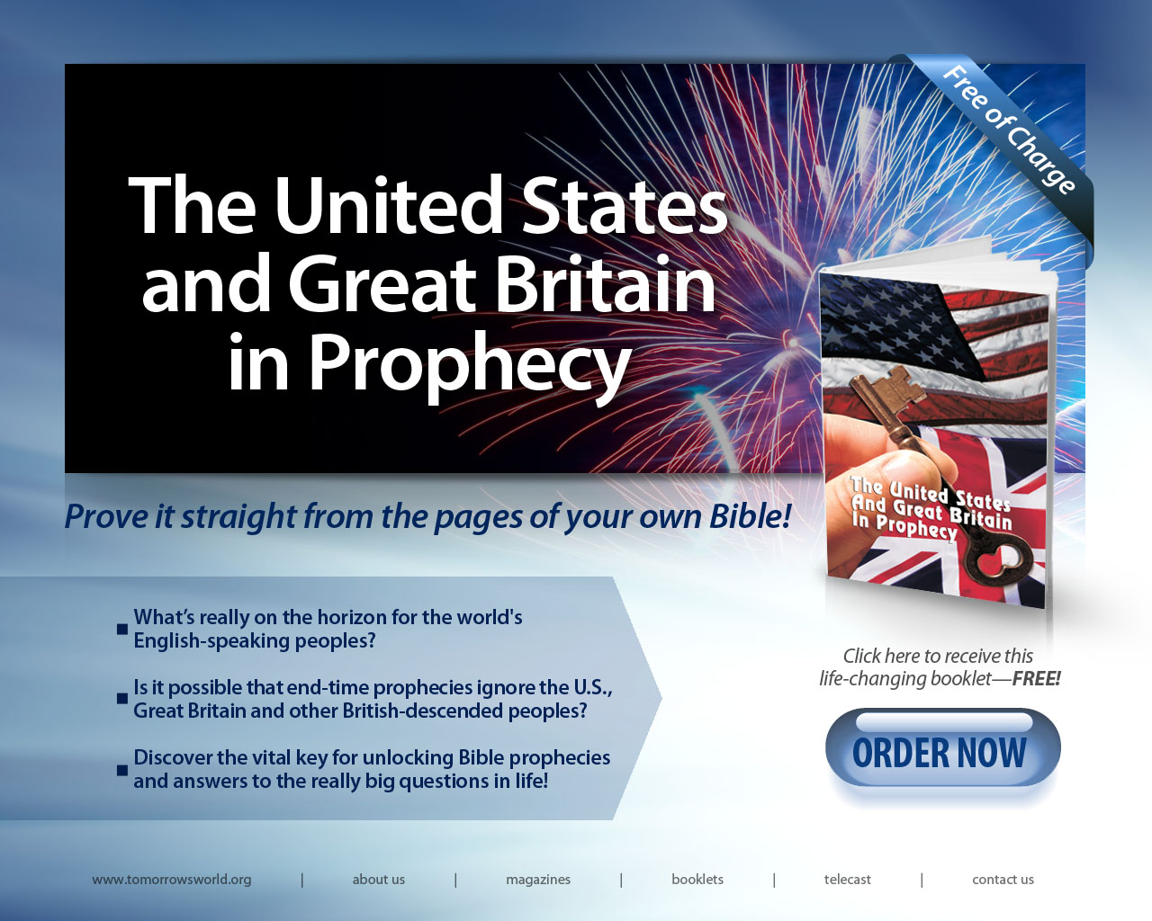 The United States and Great Britain in Prophecy | Prove it ...